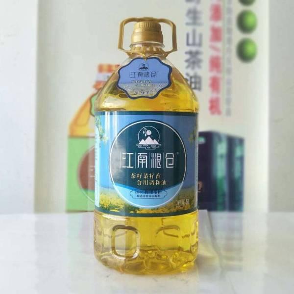 茶籽原香食用调和油