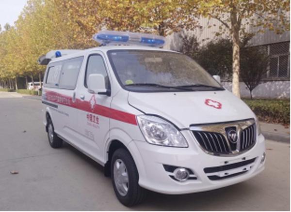 福田G5蒙派克2.4L监护型救护车