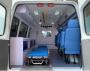 江铃特顺长轴中顶柴油转运型救护车