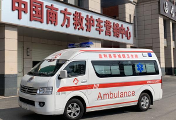 福田G9长轴高顶监护型救护车