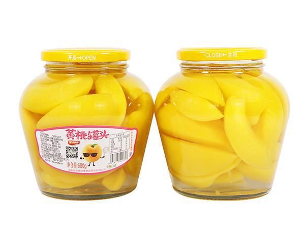 680克黄桃