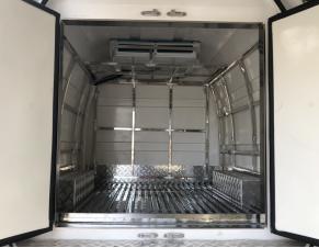 福田G9双排座疫苗、药品冷藏车