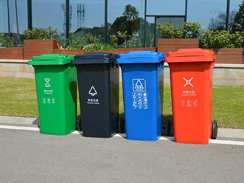 120升物业社区市政垃圾桶