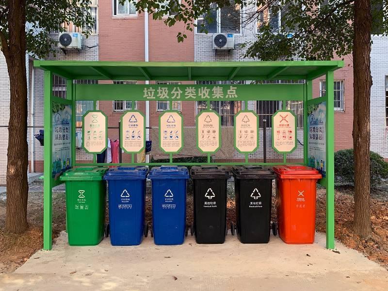 社区垃圾分类亭