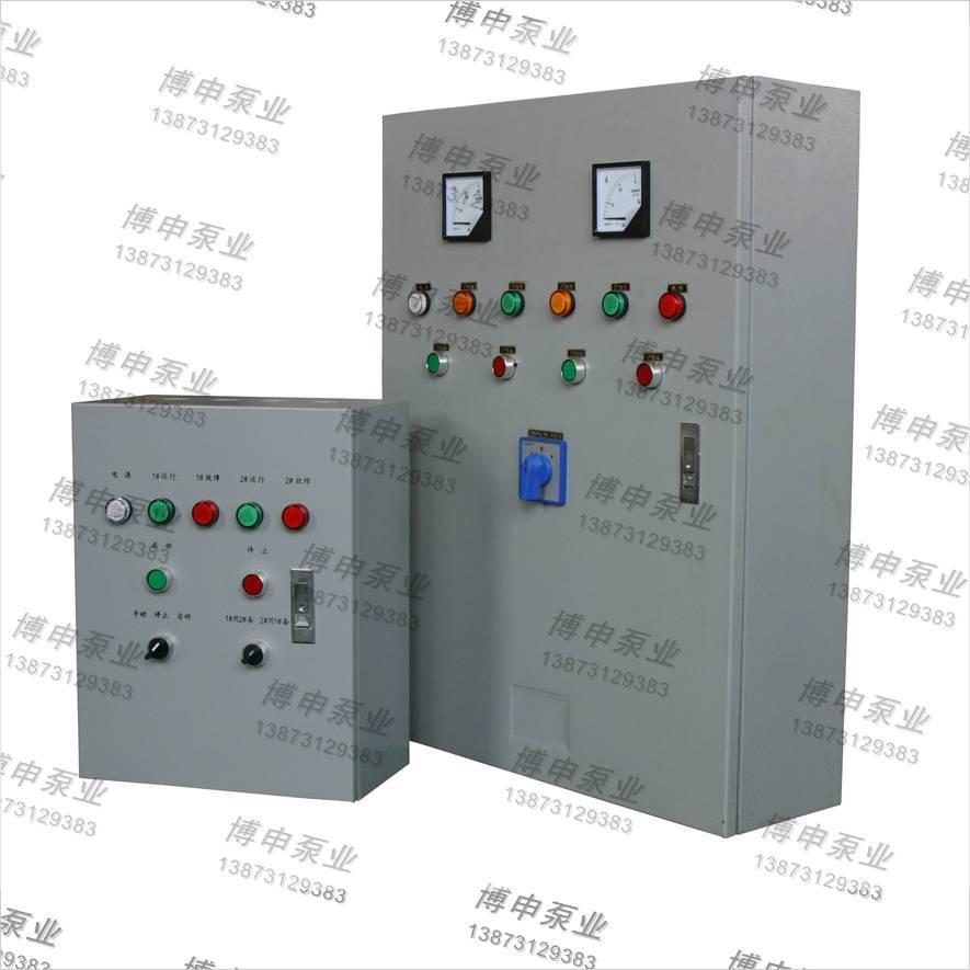 挂墙式一控二变频启动控制柜