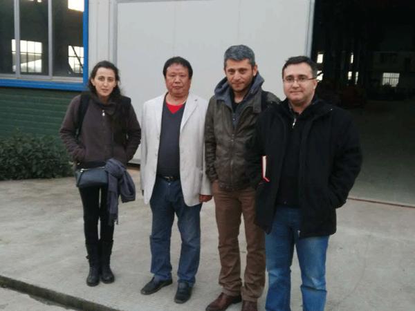 2015年12月国外客户来公司考察