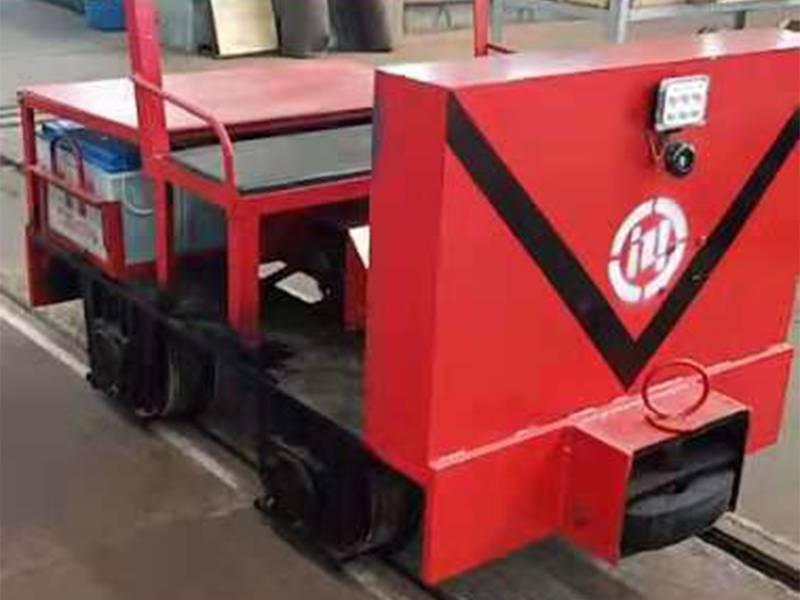1吨蓄电池式电机车