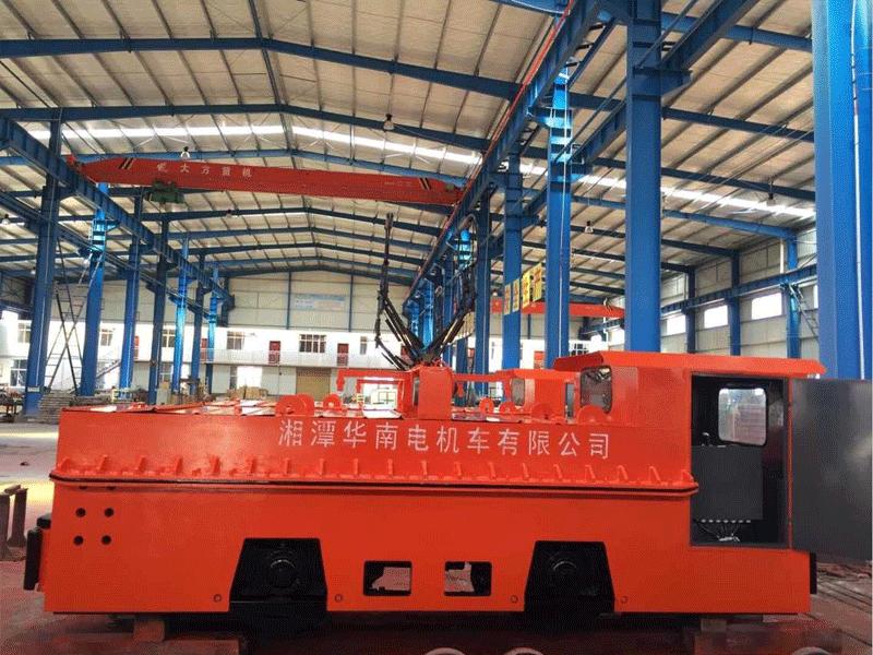 14T架线式电机车