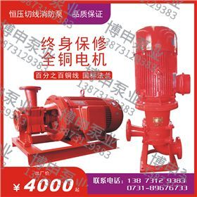 XBD-HY(L)系列变流恒压消防切线泵