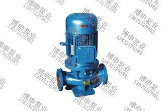 ISG系列立式单级直联式管道泵