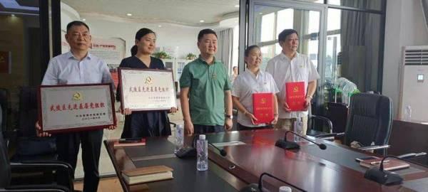 喜讯!湖南博联工程检测有限公司党支部 被评为武陵区先进基层党组织