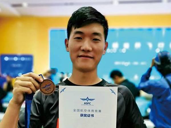 王金政,中国无人机国家队队员