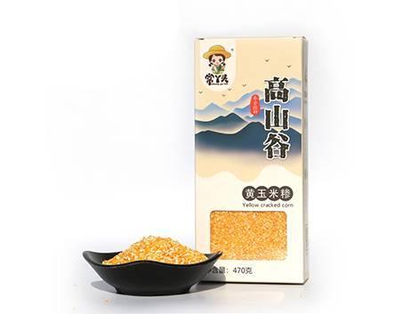信粮道黄玉米糁